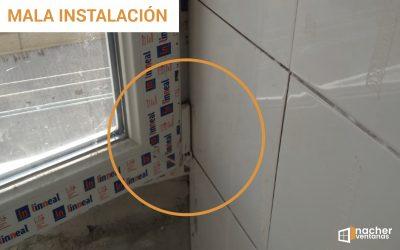 Cómo no instalar unas ventanas
