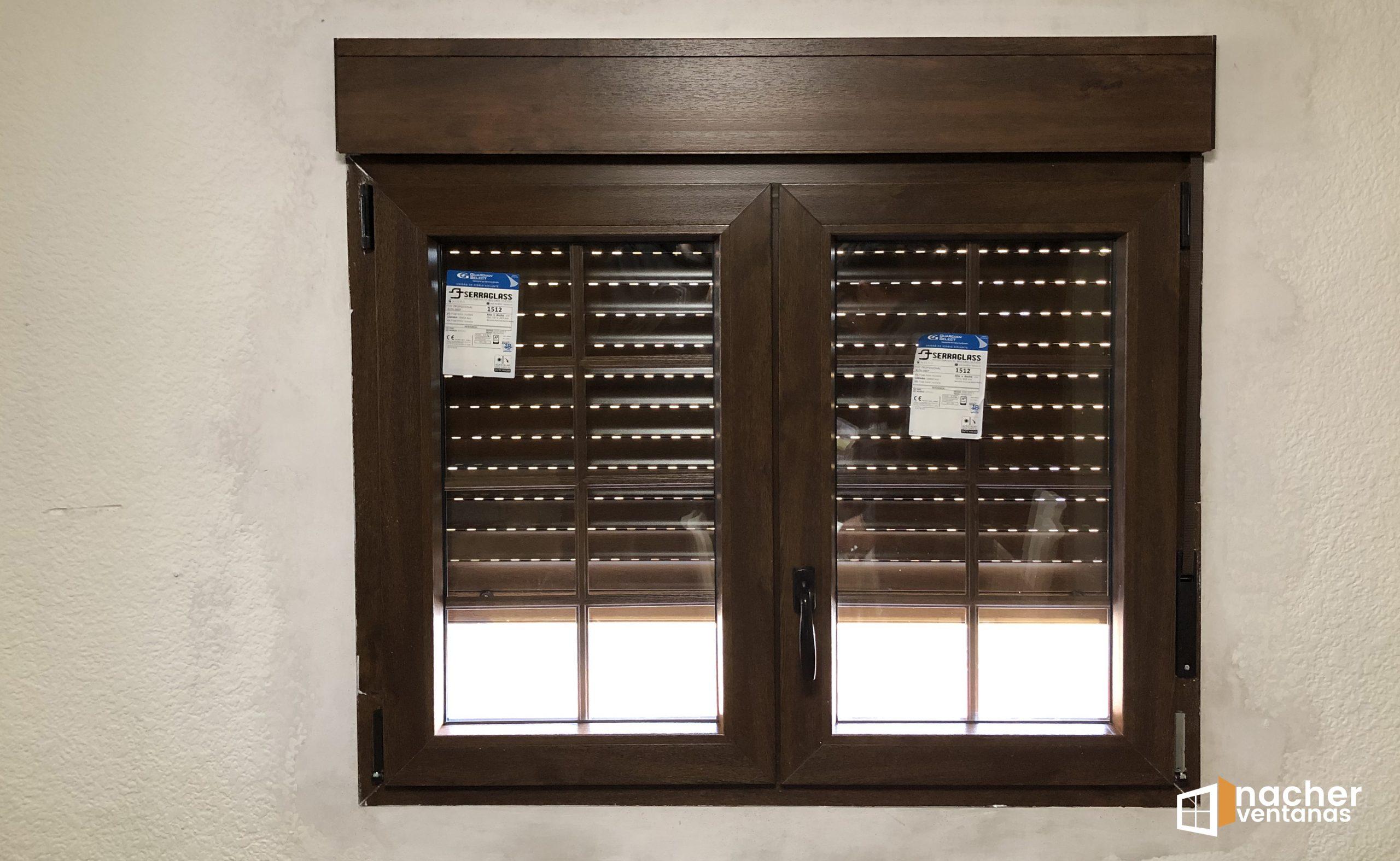 instalacion-ventanas-pvc-nogal-playa-con-barrotillo-castellon-playa