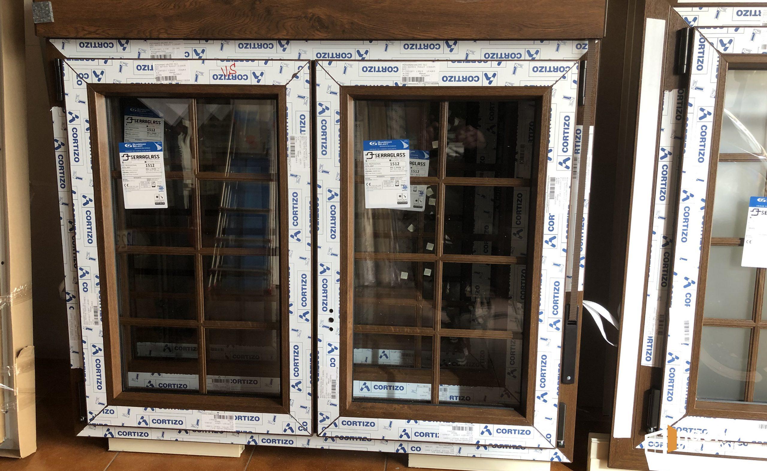 Instalación ventanas de PVC playa