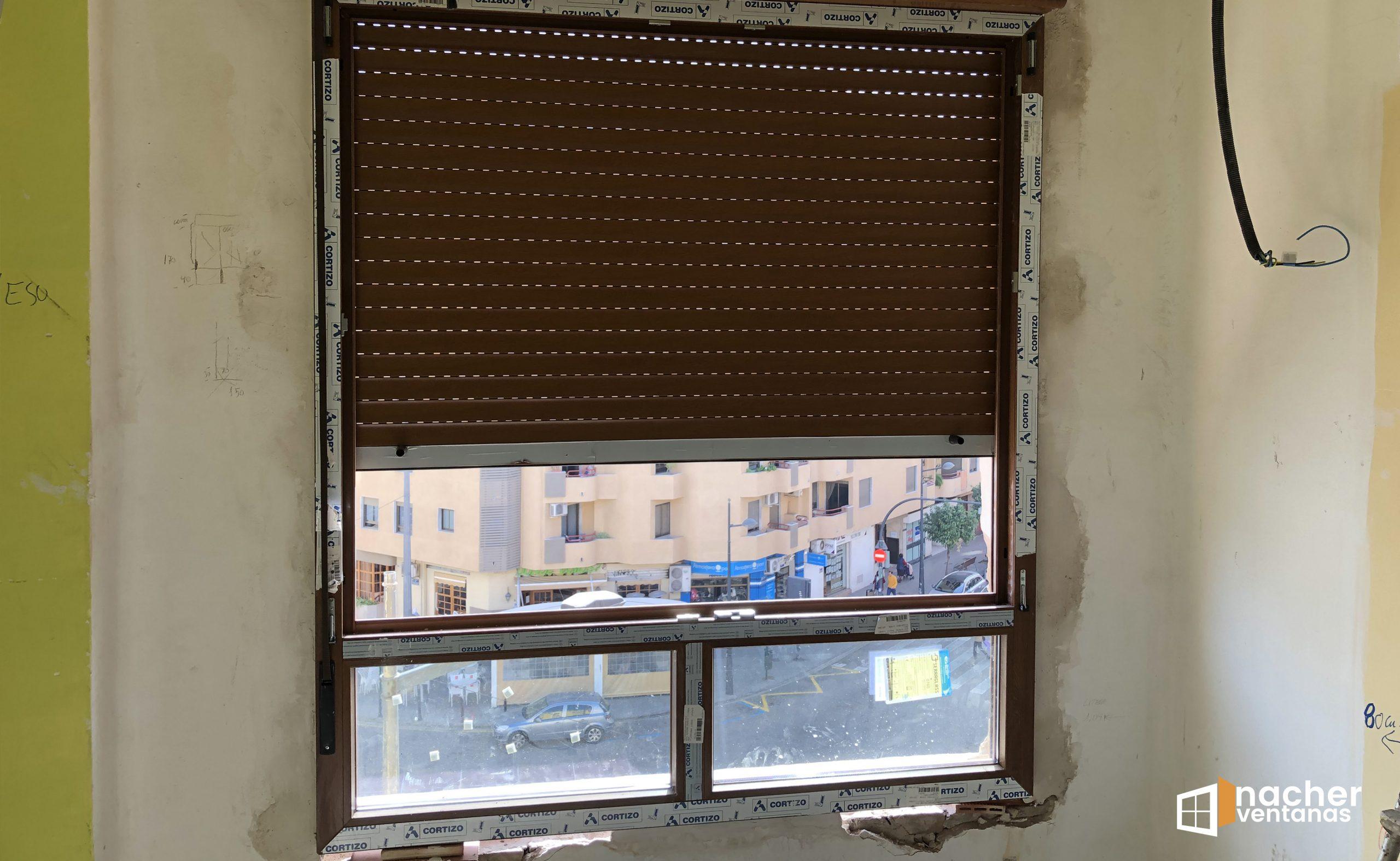 Venta y transporte ventanas PVC