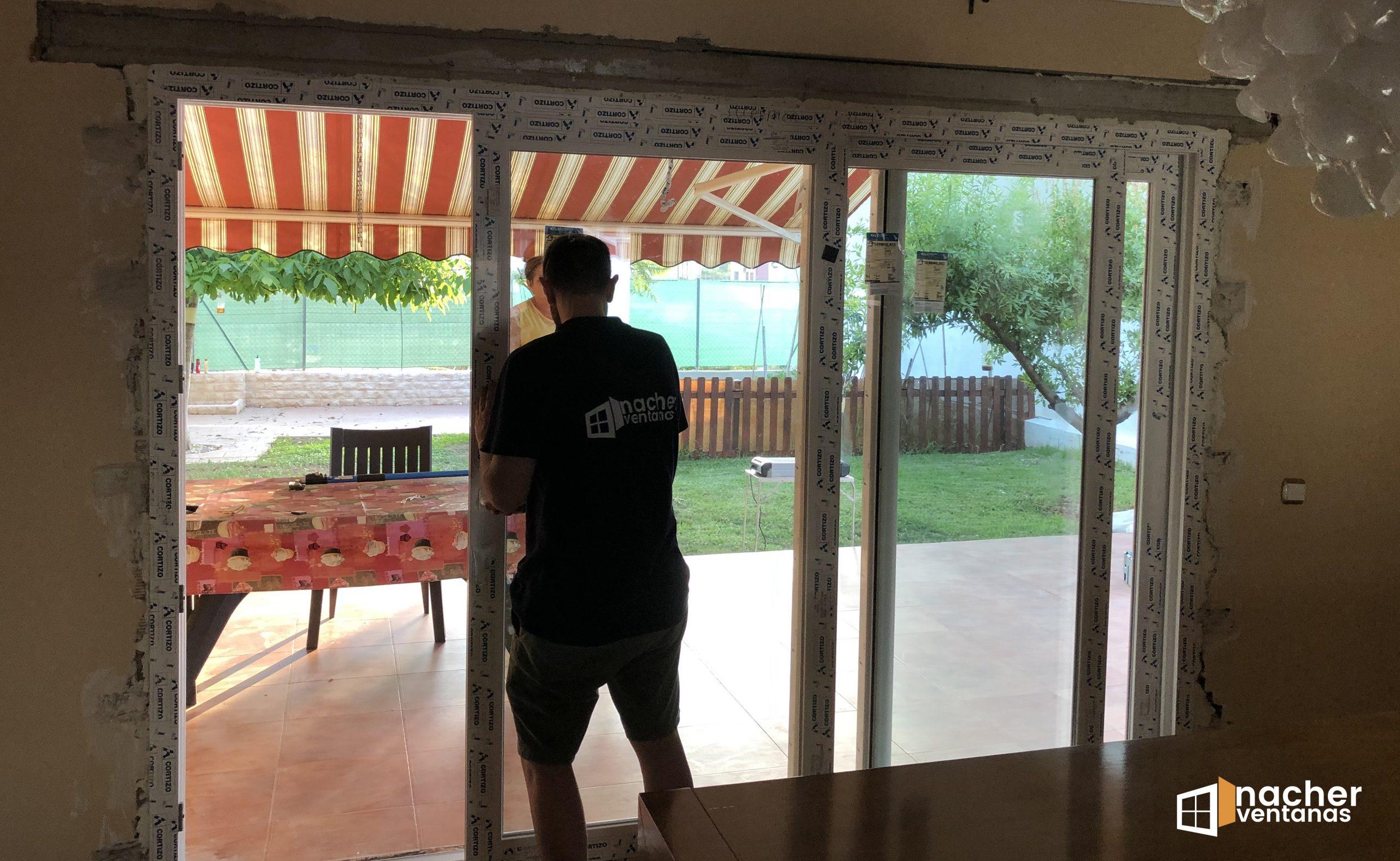 ventana tricarril pvc valencia 2