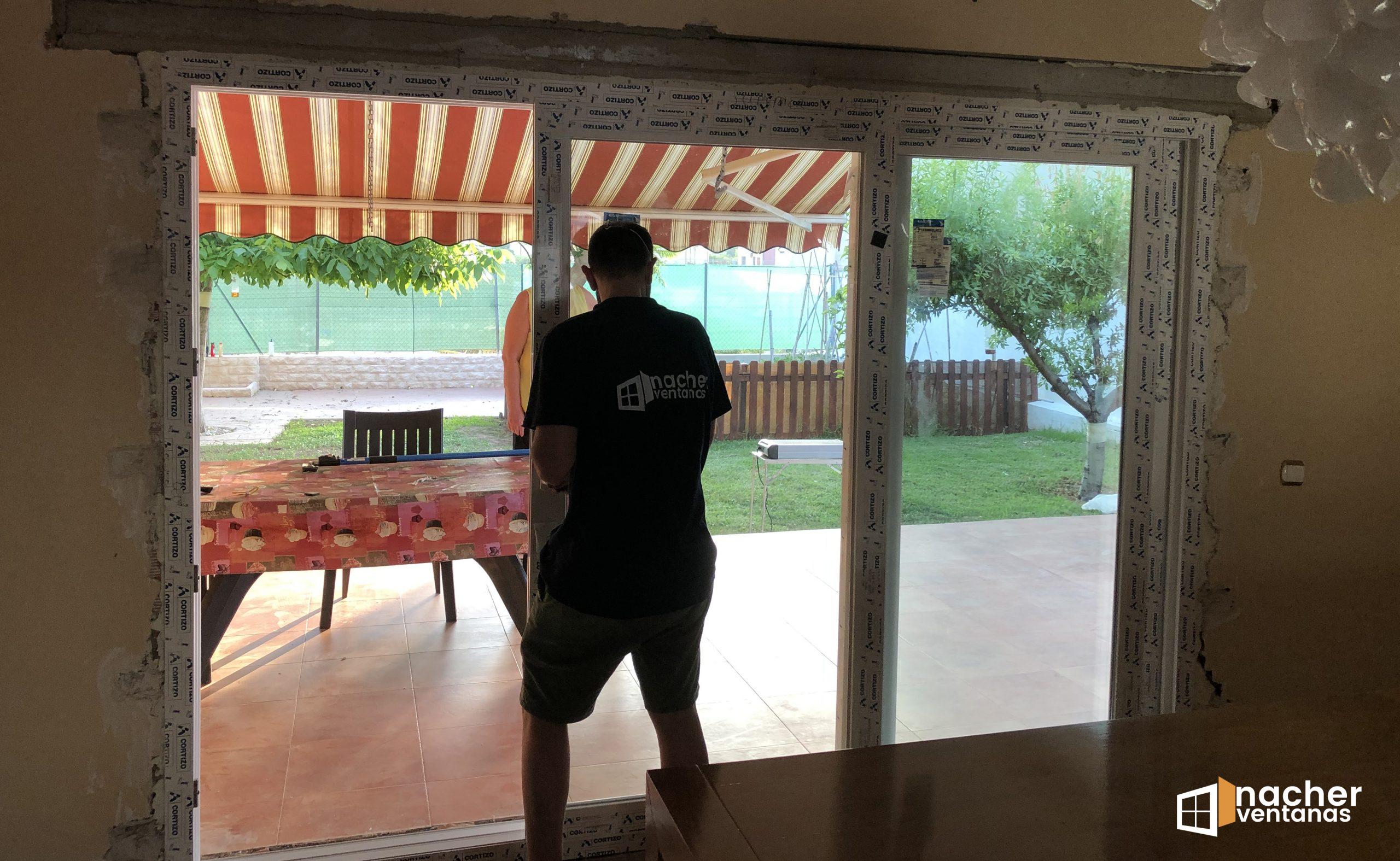 ventana tricarril pvc valencia 3