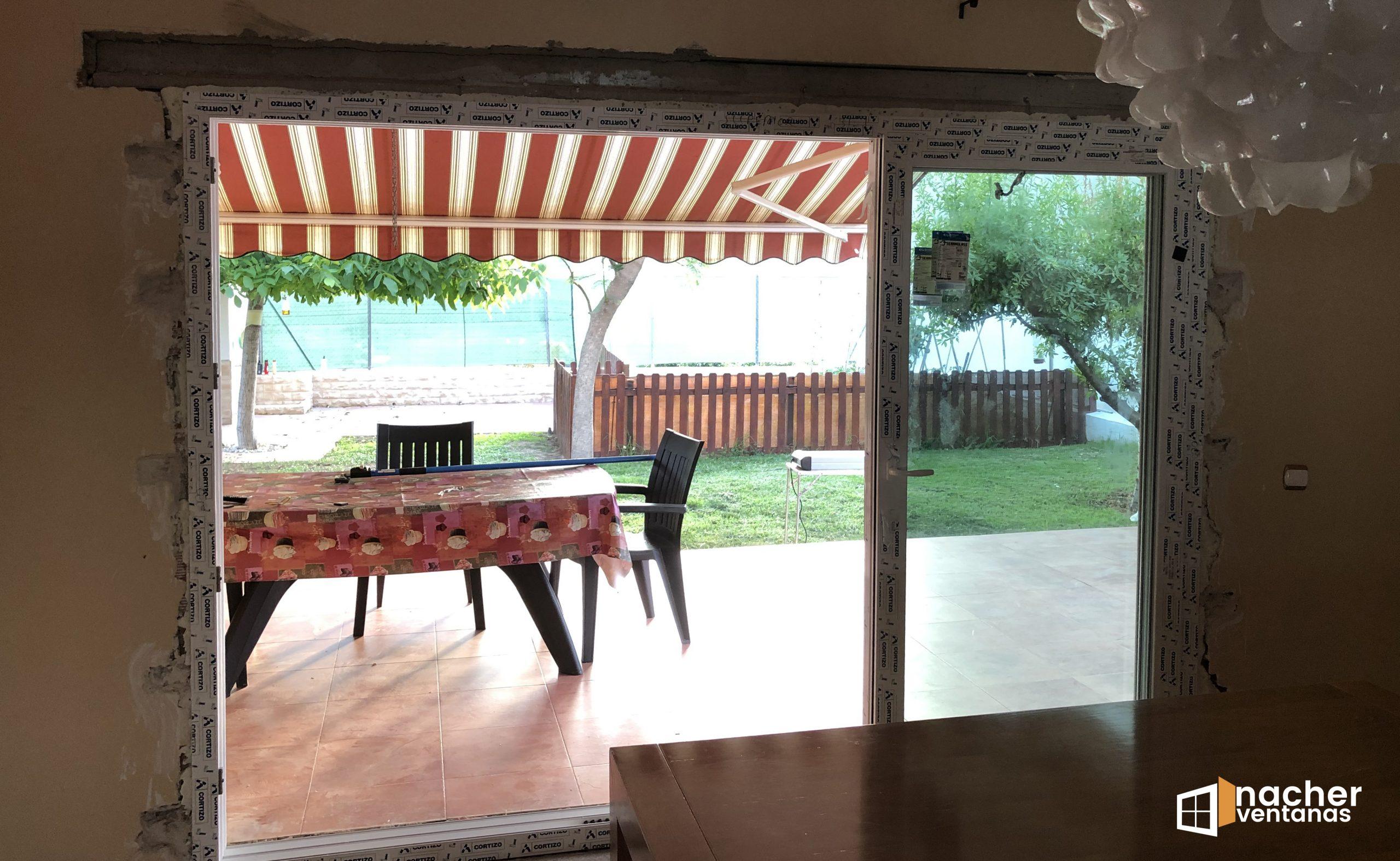 ventana tricarril pvc valencia 4