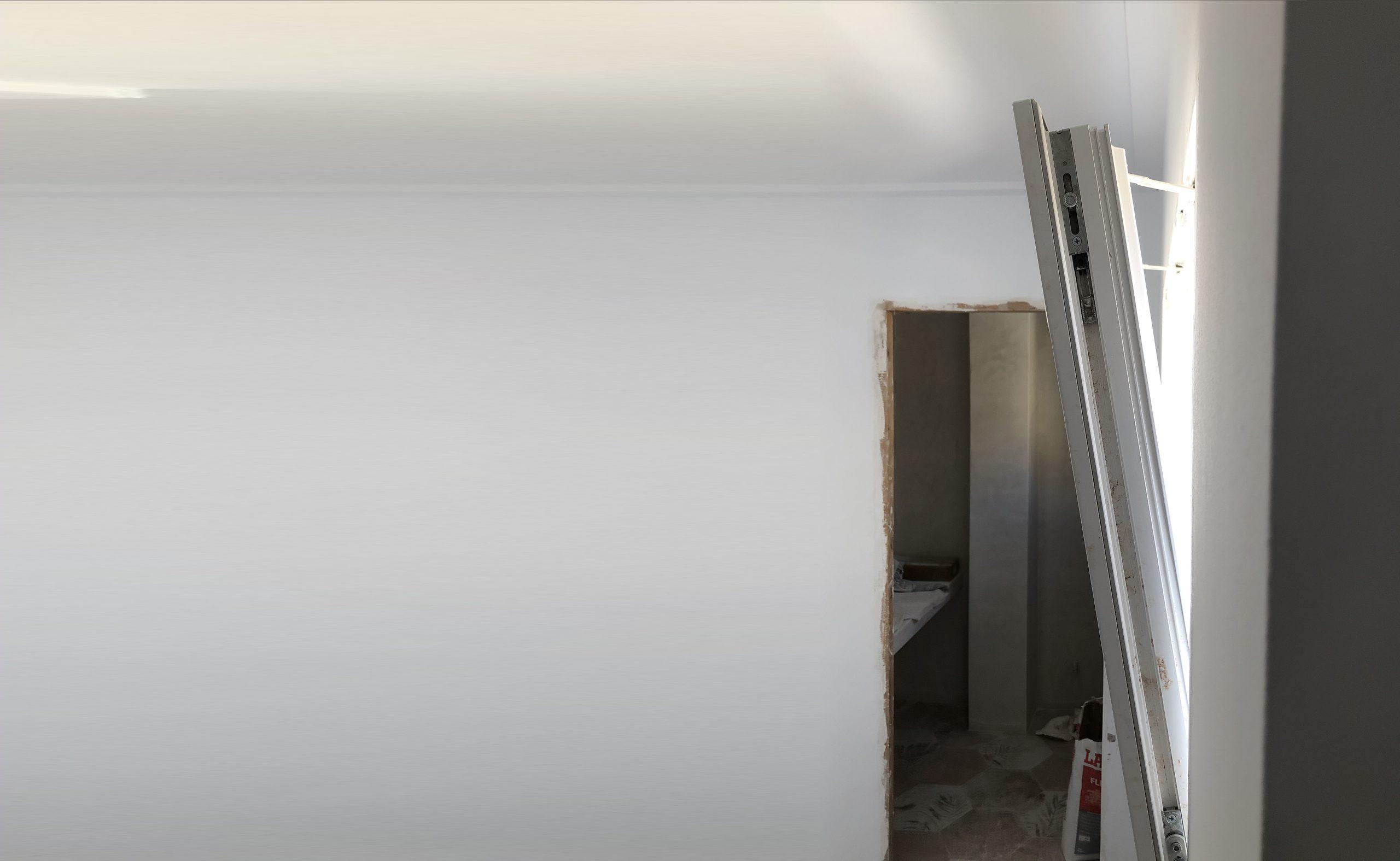 ventanas de pvc en blanco