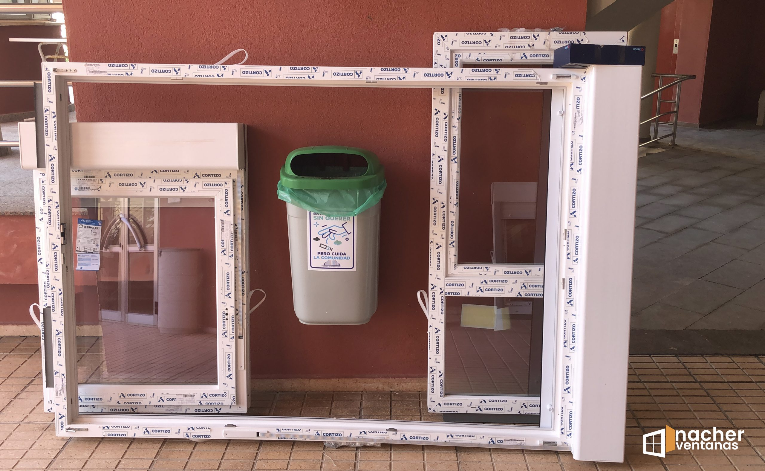 ventanas de pvc cullera ideales para playa