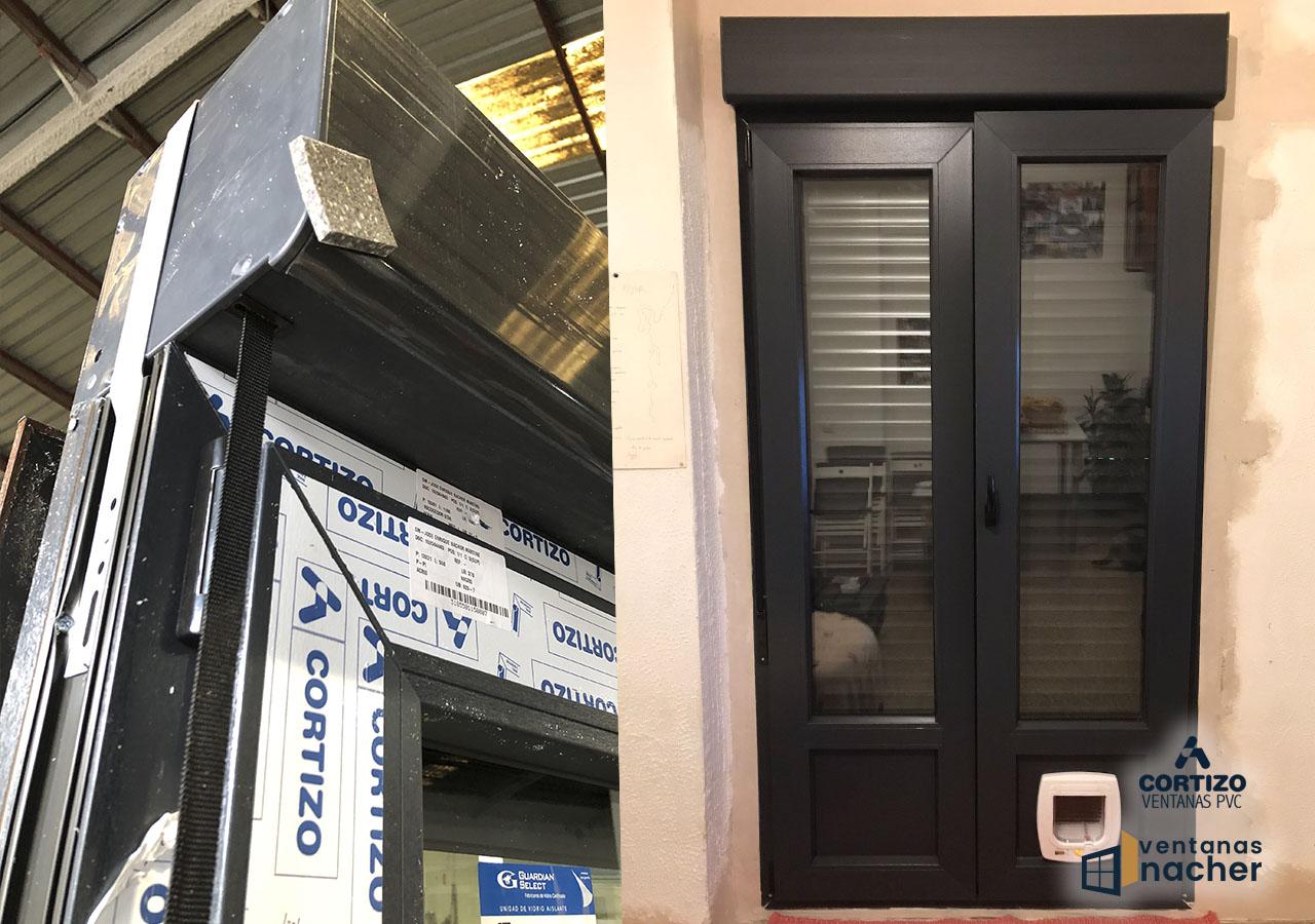 Venta y regulación de ventanas PVC Antracita