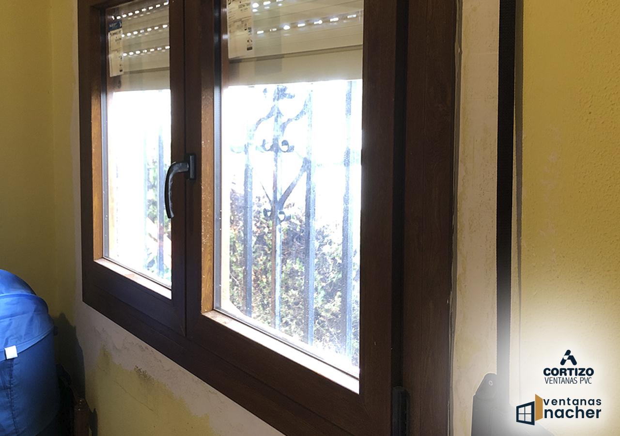 Solapado ventanas pvc solapadas
