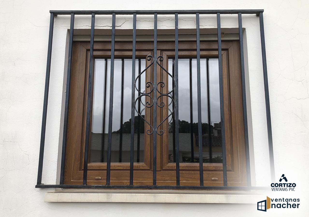 instalación ventanas pvc solapadas