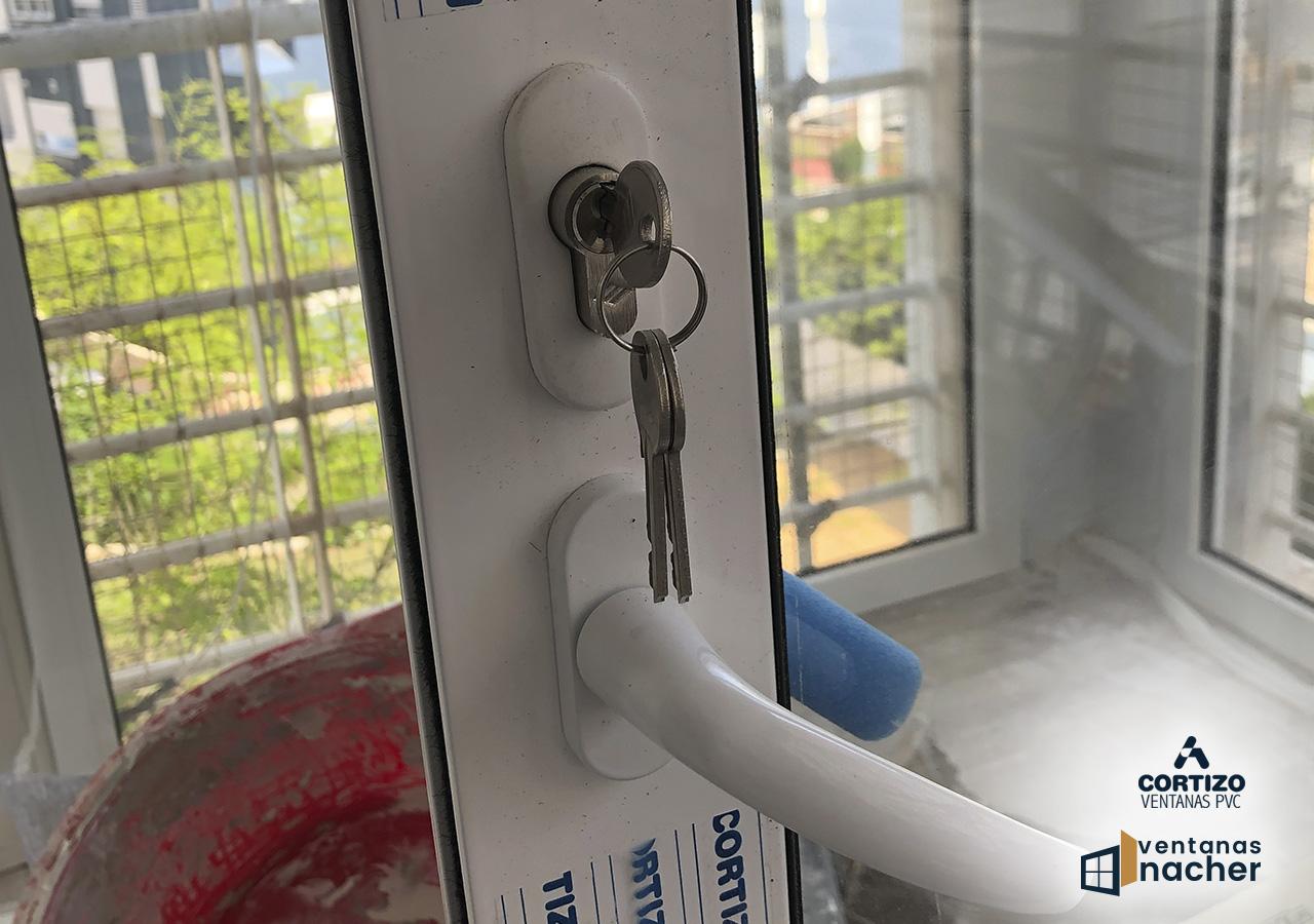 manilla pasada aluminio corredera 4200