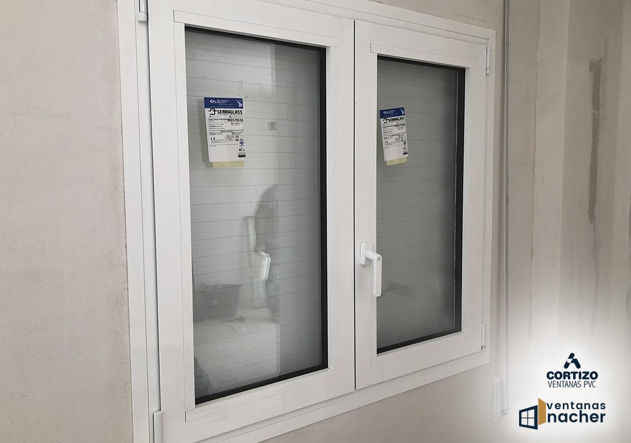 ventanas aluminio cortizo blanco