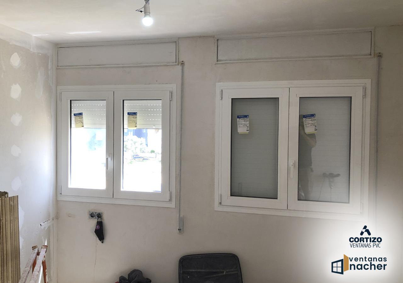 ventanas atornilladas aluminio