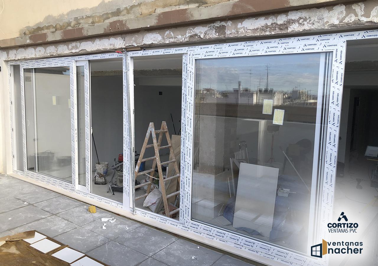 ventana corredera pvc paterna