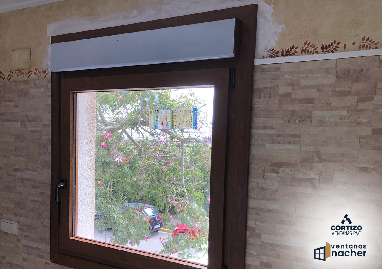ventana de pvc 1200 de ancho