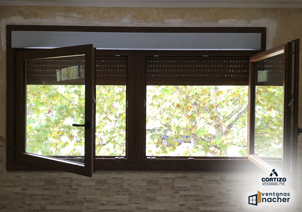 ventana pvc a70 cortizo