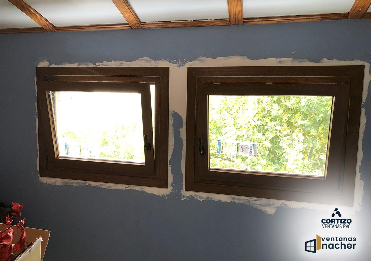 ventanas oscilobatientes de pvc